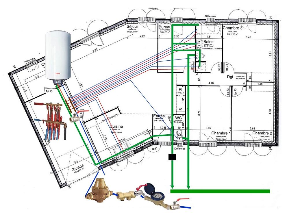 Travaux de plomberie sur Caen et alentours